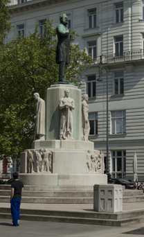 Lueger Denkmal bei Tag<br> Foto: Lilly Panholzer