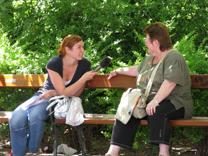 Aktion beim Lueger-Platz (25. Mai 2009) Foto: Michaela Scheiflinger